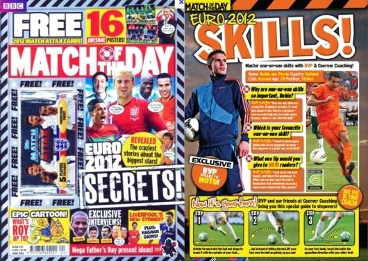 magazine feature matching crowd