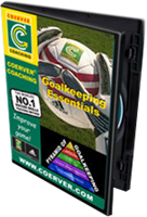 Picture of Coerver® Coaching Goalkeeping Essentials DVD