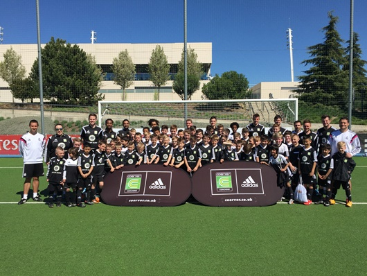 Coerver UK Easter Pro Tour To Real Madrid A Huge Success