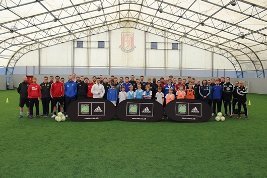 Coerver UK Youth Diploma 1 Course At Stoke City FC A Huge Succes