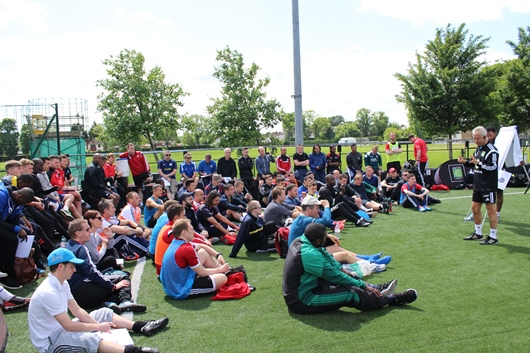 Coerver Youth Diploma 1 courses a huge success in England