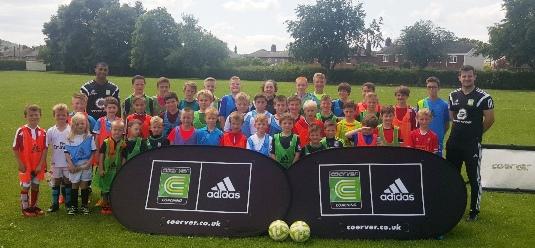 Coerver UK visit Cheadle Town FC for the 1st 'Play Like The Stars' Roadshow of 2015