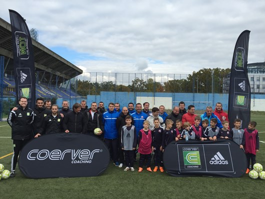 Coerver Director Works With World Leading Academy