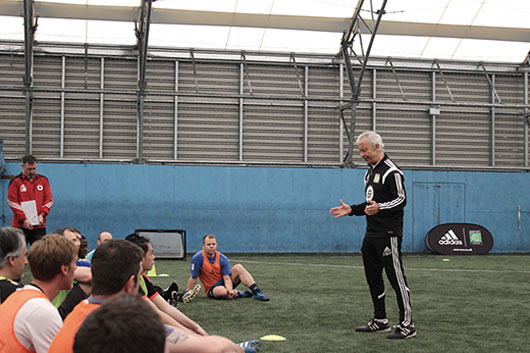 Coerver Coaching Youth Diploma 2 Course A Huge Success