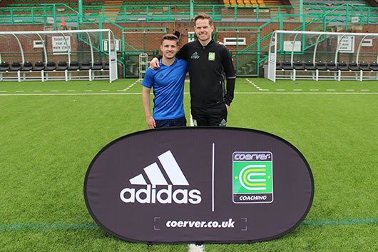 Coerver England & Wales Director works with Arsenal FC Star