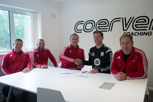 ROBIN HOOD ATHLETIC JFC BECOME AN OFFICIAL COERVER PARTNER CLUB