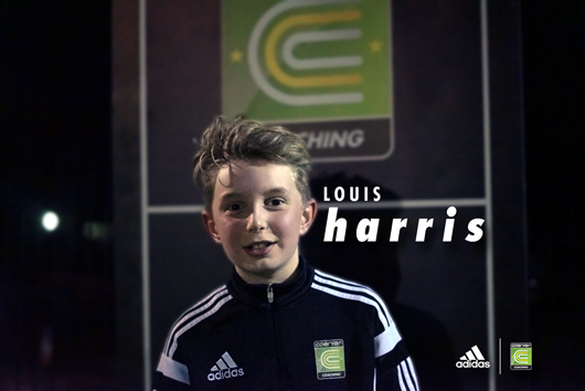 SIGNED! Coerver® Kid Louis signs his first professional contract!