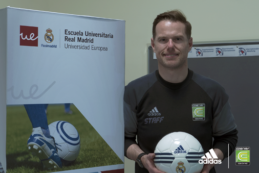 Coerver EW Director invited back to lecture at the Real Madrid University