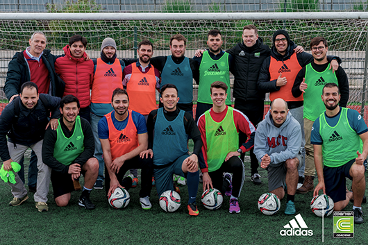 Coerver EW Director returns to lecture at the Real Madrid University